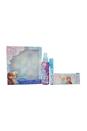 Frozen by Disney for Kids - 3 Pc Gift Set 0.32oz EDT Spray, 5.1oz Body Spray, Clutch