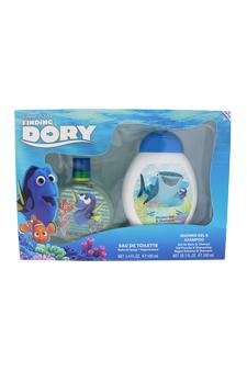Finding Dory by Disney for Kids - 2 Pc Gift Set 3.4oz EDT Spray, 10.1oz Shower Gel & Shampoo