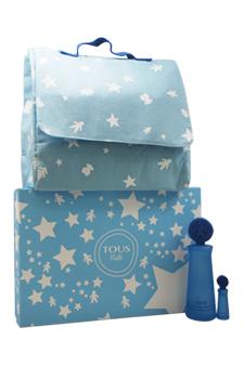 Tous Kids Boy by Tous for Kids - 3 Pc Gift Set 3.4oz EDT Spray, 0.15oz EDT Splash, Tous Kids BackPack
