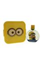 Minions by Minions for Kids - 2 Pc Gift Set 3.4oz EDT Spray, Minion Box