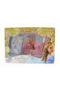 Cinderella by Disney for Kids - 4 Pc Gift Set 3.4oz EDT Spray, 0.08oz Lip Gloss, 0.05oz Eye Shadow, Purse Nice Disney