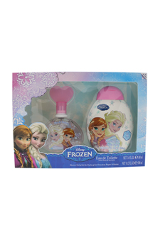 Frozen by Disney for Kids - 2 Pc Gift Set 3.4oz EDT Spray, 10.2oz Shower Gel