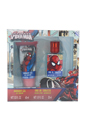 Ultimate Spider Man by Marvel for Kids - 2 Pc Gift Set 1.01oz EDT Spray, 2.03oz Shower Gel