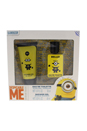 Minions by Minions for Kids - 2 Pc Gift Set 1.01oz EDT Spray, 2.03oz Shower Gel