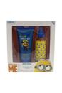 Minions by Minions for Kids - 2 Pc Gift Set 5.1oz Shower Gel, 5.1oz Body Spray