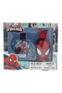 Ultimate Spider Man by Marvel for Kids - 2 Pc Gift Set 3.4oz EDT Spray, 8.5oz Shower Gel
