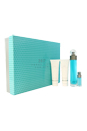 360 by Perry Ellis for Men - 4 Pc Gift Set 3.4oz edt spray, 3oz shower gel, 3oz after shave balm, 7.5 ml EDT Spray