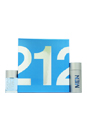 212 by Carolina Herrera for Men - 2 Pc Gift Set 3.4oz EDT Spray, 3.4oz After Shave Lotion