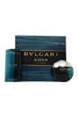Bvlgari Aqva by Bvlgari for Men - 2 Pc Gift Set 3.4oz EDT Spray, 6.8oz Shampoo and Shower Gel