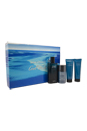 Cool Water by Zino Davidoff for Men - 4 Pc Gift Set 4.2oz EDT Spray, 2.5oz After Shave Balm, 2.5oz Shower Gel, 2.4oz Deodorant Stick