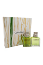 Eternity by Calvin Klein for Men - 2 Pc Gift Set 3.4oz EDT Spray, 3.4oz After Shave