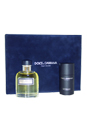 Dolce & Gabbana by Dolce & Gabbana for Men - 2 Pc Gift Set 4.2oz EDT Spray, 2.5oz Deodorant Stick