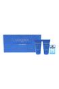 Versace Man Eau Fraiche by Versace for Men - 3 Pc Mini Gift Set 5ml EDT Splash, 25ml Shower Gel, 25ml After Shave Balm
