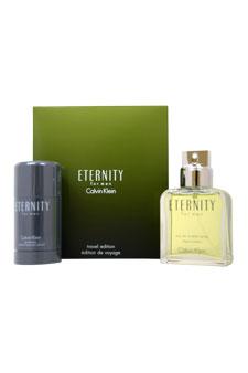 Calvin Klein Eternity  men 3.4oz EDT Spray Deodorant Gift Set