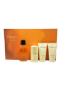 Obsession by Calvin Klein for Men - 4 Pc Gift Set 4oz EDT Spray, 2.5oz Alcohol Free After Shave Balm, 2.5oz All Over Body Wash, 2.6oz Alcohol Free Deodorant Stick