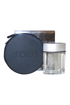 Tous Man by Tous for Men - 2 Pc Gift Set 3.4oz EDT Spray, Tous Man CD Case