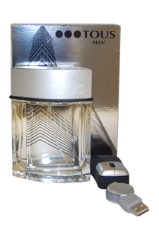 Tous Man by Tous for Men - 2 Pc Gift Set 3.4oz EDT Spray, Tous Man Mouse