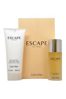 Calvin Klein Escape  men 3.4oz EDT Spray Aftershave Gift Set