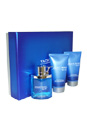 Yacht Man Blue by Myrurgia for Men - 3 Pc Gift Set 3.4oz EDT Spray, 5.1oz Shower Gel, 5.1oz After Shave Balm