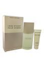 L'eau D'issey by Issey Miyake for Men - 2 Pc Gift Set 4.2oz EDT Spray, 2.5oz Shower Gel