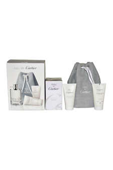 Eau De Cartier  men 3.3oz EDT Spray Gift Set
