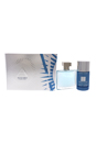 Chrome by Loris Azzaro for Men - 2 Pc Gift Set 1.5oz EDT Spray, 2.5oz Alcohol Free Deodorant Stick