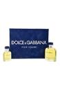 Dolce & Gabbana by Dolce & Gabbana for Men - 2 Pc Gift Set 4.2oz EDT Spray, 1.3oz EDT Spray