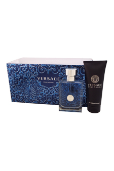 Versace Pour Homme by Versace for Men - 3 Pc Gift Set 3.4oz