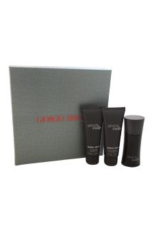 Armani Code by Giorgio Armani for Men - 3 Pc Gift Set 1.7oz EDT Spray, 2.5oz Shower Gel, 2.5oz After Shave Balm