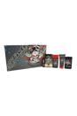 Ed Hardy Born Wild by Christian Audigier for Men - 5 Pc Gift Set 3.4oz EDT Spray, 0.25oz EDT Spray, 3oz Hair & Body Wash, 2.75oz Alcohol Free Deodorant, Luggage Tag