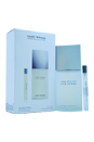 L'eau D'issey by Issey Miyake for Men - 2 Pc Gift Set 4.2oz EDT Spray, 0.33oz EDT Spray