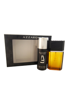 Loris Azzaro  men 3.4oz EDT Spray Deodorant Spray Gift Set