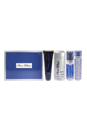 Paris Hilton by Paris Hilton for Men - 4 Pc Gift Set 3.4oz EDT Spray, 3oz Hair and Body Wash, 2.75oz Alcohol Free Deodorant Stick, 0.25oz EDT Spray
