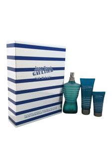 Le Male by Jean Paul Gaultier for Men - 3 Pc Gift Set 4.2oz EDT Spray, 2.5oz Shower Gel, 1oz After Shave Balm