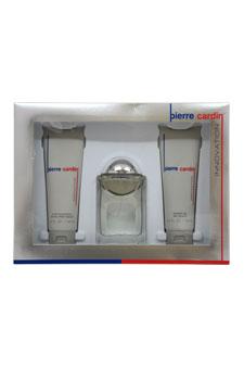 Innovation by Pierre Cardin for Men - 3 Pc Gift Set 3.4oz EDC Spray, 4.2oz After Shave Balm, 4.2oz Shower Gel