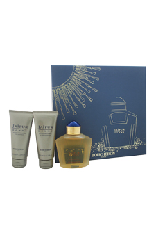 Boucheron Jaipur Homme 3.3oz EDP Spray Aftershave Shower Gel Gift Set