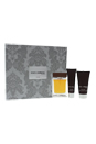 The One by Dolce & Gabbana for Men - 3 Pc Gift Set 3.3oz EDT Spray, 2.5oz After Shave Balm, 1.6oz Shower Gel