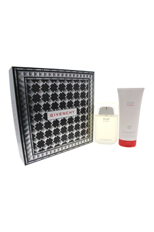 Play Sport by Givenchy for Men - 2 Pc Gift Set 3.3oz EDT Spray, 6.7oz Hair and Body Shower Gel