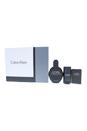 Dark Obsession by Calvin Klein for Men - 3 Pc Gift Set 4oz EDT Spray, 0.67oz EDT Spray, 2.6oz Deodorant Stick Alcohol Free