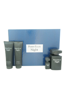Perry Ellis Night by Perry Ellis for Men - 4 Pc Gift Set 3.4