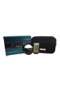 Bvlgari Aqva by Bvlgari for Men - 3 Pc Gift Set 3.4oz EDT Spray, 2.5oz Shampoo and Shower Gel, Pouch