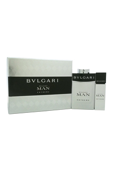 Bvlgari Man Extreme  men 15ml 3.4oz EDT Spray Gift Set