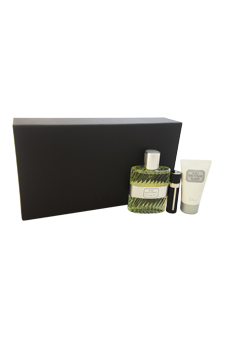 Christian Dior Eau Sauvage  men 3.4oz EDT Spray Shower Gel Gift Set