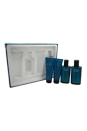 Cool Water by Zino Davidoff for Men - 4 Pc Gift Set 2.5oz EDT Spray, 2.5oz After Shave Balm, 2.5oz Shower Gel, 2.5oz After Shave