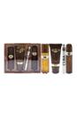 Cuba Gold by Cuba for Men - 4 Pc Gift Set 3.3oz EDT Spray, 1.17oz EDT Spray, 3.3oz After Shave, 6.7oz Shower Gel