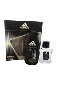 Adidas Dynamic Pulse  men 1.7oz EDT Spray Shower Gel Gift Set