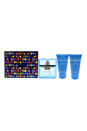 Versace Man Eau Fraiche by Versace for Men - 3 Pc Gift Set 1.7oz EDT Spray, 1.7oz Bath & Shower Gel, 1.7oz After Shave Balm
