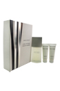 L'eau D'issey by Issey Miyake for Men - 3 Pc Gift Set 4.2oz EDT Spray, 2 x 2.5oz Shower Gel