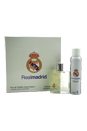 Real Madrid by Real Madrid for Men - 2 Pc Gift Set 3.4oz EDT Spray, 4.2oz Natural Deodorant Spray