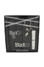 Black XS by Paco Rabanne for Men - 2 Pc Gift Set 3.4oz EDT Spray, 0.34oz EDT Spray (Travel Spray With Keychain Holder)